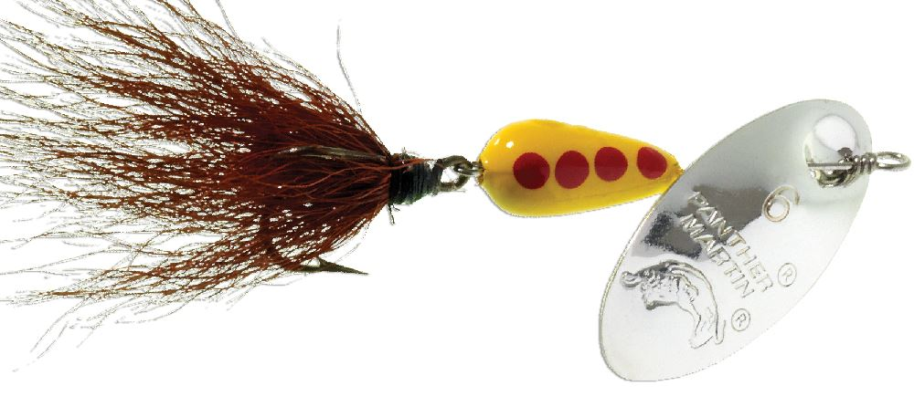 Panther Martin Nature Series Spotted Fly Dressed Fishing Spinner PMSPF/_6/_YY Nature Series Spotted Fly Dressed Fishing Spinner Yellow