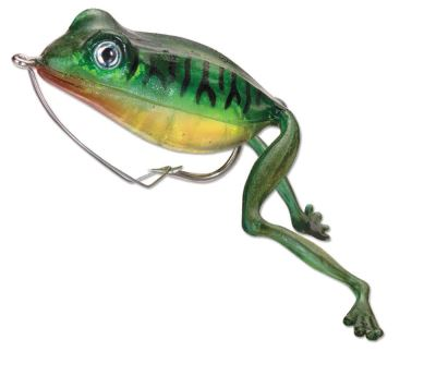 Holographic Superior Frog Green