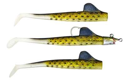 BigFin™ 3-in-1 Paddle Tail Weedless Swimbaits