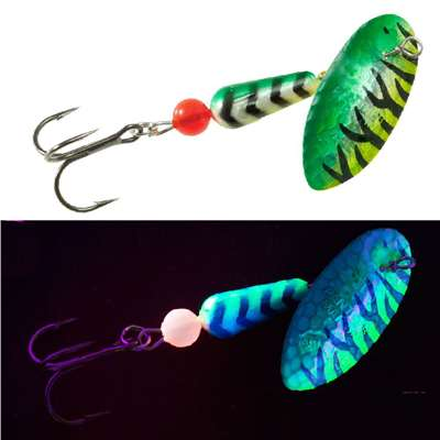 Salmon & Steelhead Hammered HMR UV Green/Chartreuse